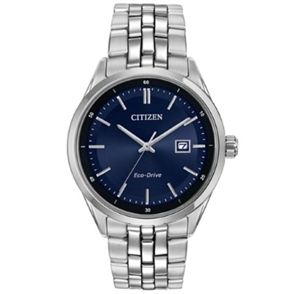 Picture of Citizen Men's Stainless Steel Watch with Navy Dial