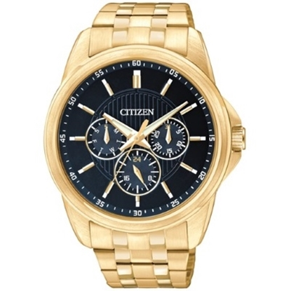 Picture of Citizen Men's Gold-Tone Watch with Dark Blue Dial