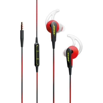 Picture of Bose® SoundSport® In-Ear Headphones for iOS- Power Red