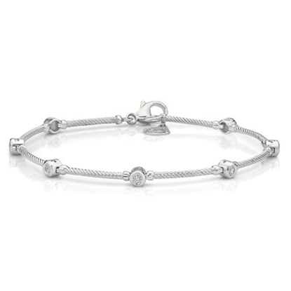 Picture of ALOR Flamme Blanche 18K White Gold & Diamond Bracelet