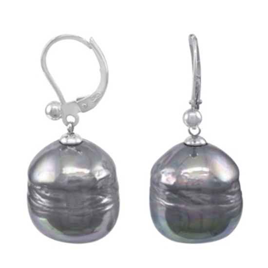 64a553edad5f8 MileagePlus Merchandise Awards. Majorica Grey Baroque Pearl and ...