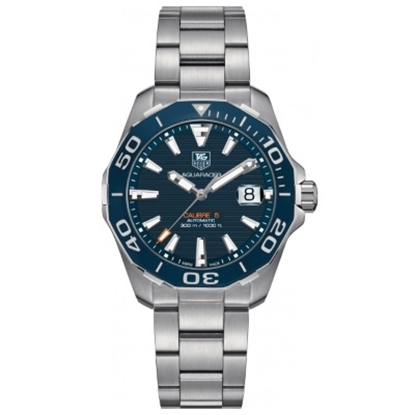 Picture of TAG Heuer Aquaracer Stainless Steel Watch with Blue Dial
