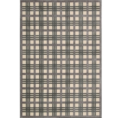 Picture of Nourison Graphic Illusions 5'3'' x 7'5'' Rug - Ivory