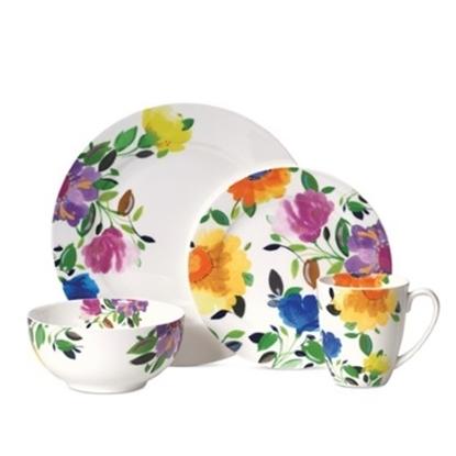 Picture of Kim Parker Provence Garden 16-Piece Dinnerware Set