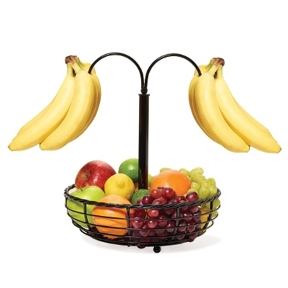 Picture of Mikasa Gourmet Basics Double Banana Hook Basket