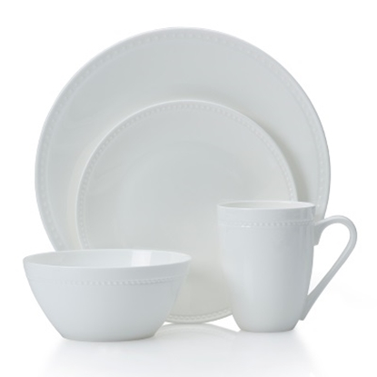 Picture of Mikasa Loria 16-Piece Bone China Dinnerware Set
