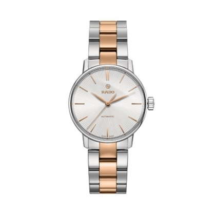Picture of Rado Coupole Classic S Auto Rose Gold/Stainless Steel Watch