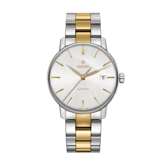 Picture of Rado Coupole Classic L Auto Stainless Steel/Yellow Gold Watch