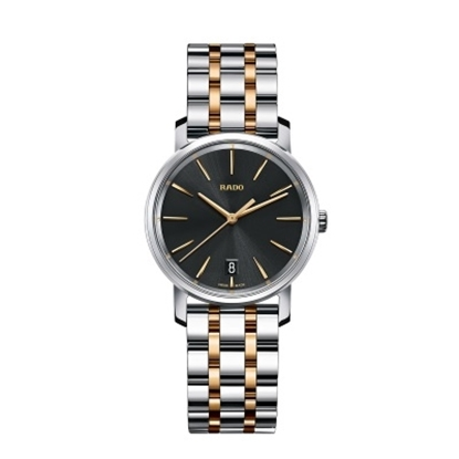 Picture of Rado DiaMaster M Two-Tone Stainless Steel Ladies' Watch