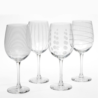 Picture of Mikasa® Cheers White Wine Glasses - Set of Eight