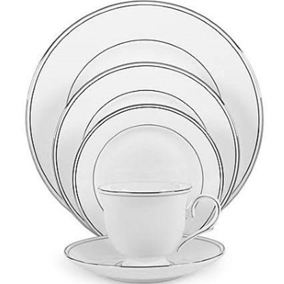 Picture of Lenox Federal Platinum 20-Piece Dinnerware Set