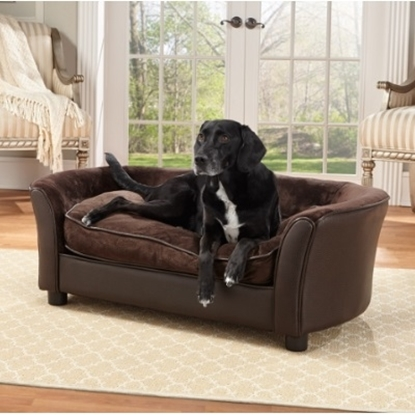 Enchanted Home Pet Panache Bed   Brown