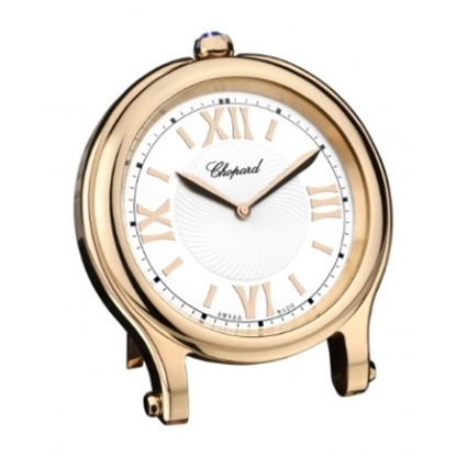 Picture of Chopard Happy Sport Table Clock - Rose Gold Finish