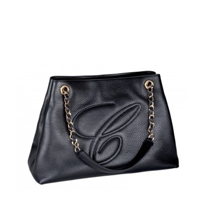 Picture of Chopard Shopper ''C'' Handbag - Black