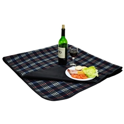 Picture of Picnic at Ascot™ Blanket with Attached Case - Blue
