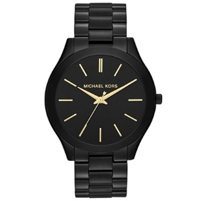 Picture of Michael Kors Slim Runway Black-Tone Watch