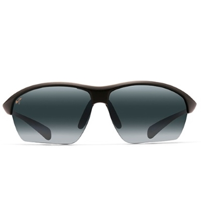 Picture of Maui Jim® Stone Crushers Sunglasses - Matte Black/Grey