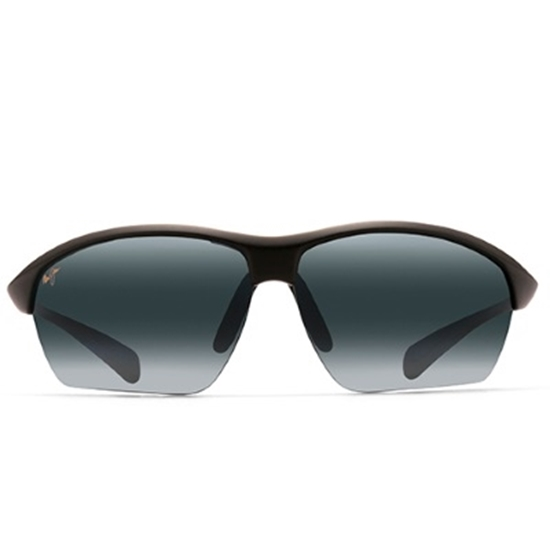 Picture of Maui Jim® Stone Crushers Sunglasses - Matte Black/Grey