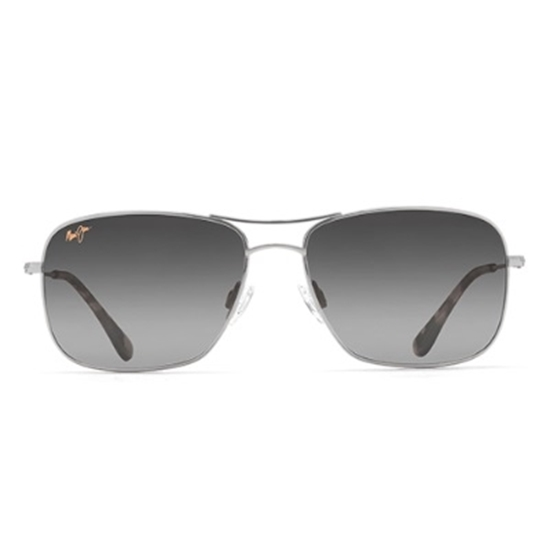 Picture of Maui Jim® Wiki Wiki Sunglasses - Silver/Neutral Grey