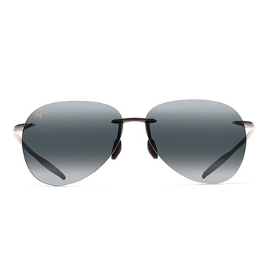 Picture of Maui Jim® Sugar Beach Sunglasses - Gloss Black/Grey
