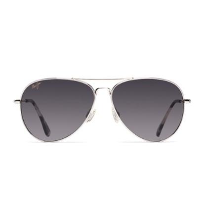Picture of Maui Jim® Mavericks Sunglasses - Silver/Neutral Grey