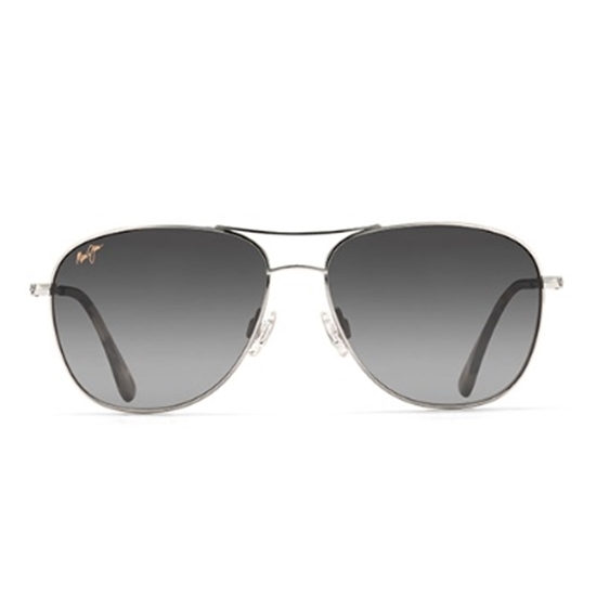 Picture of Maui Jim® Cliff House Sunglasses - Silver/Grey