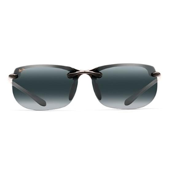 Picture of Maui Jim® Banyans Sunglasses - Gloss Black/Grey