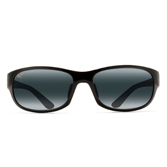 Picture of Maui Jim® Twin Falls Sunglasses - Gloss Black Fade/Grey