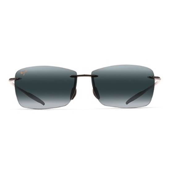 Picture of Maui Jim® Lighthouse Sunglasses - Gloss Black/Grey