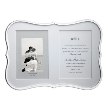 Picture of Kate Spade Crown Pointe Double Invitation Frame