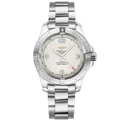 Picture of Breitling Colt 36 Steel Watch with Stratus Silver Dial