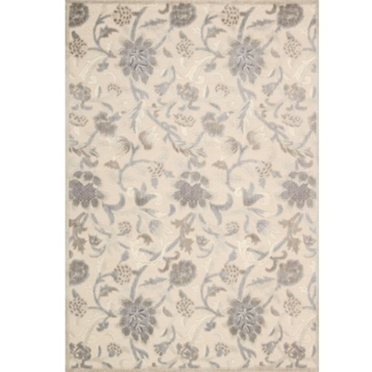Picture of Nourison Graphic Illusions 5'3''x7'5'' Rug - Ivory