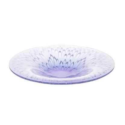 Picture of Lalique Flora Bella Bowl - Blue Lavender