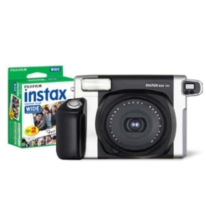 Picture of Fuji Instax Wide 300 Bundle with Film - Black/Silver