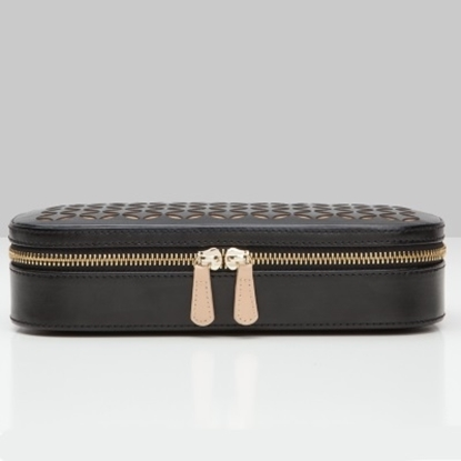 Picture of Wolf Chloé Zip Jewelry Case - Black