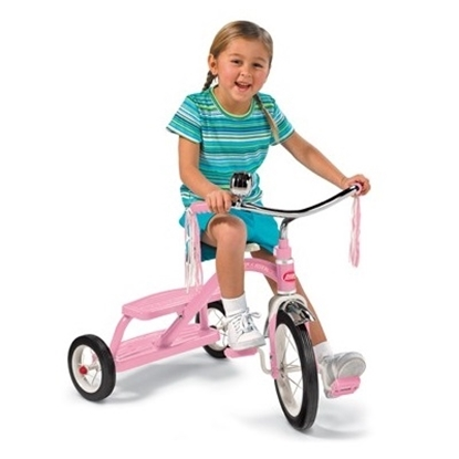 Picture of Radio Flyer® Classic Pink Dual Deck Tricycle
