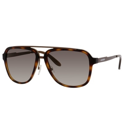 Picture of Carrera Metal Sunglasses - Havana with Brown Gradient Lens