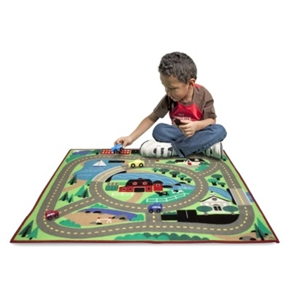 Picture of Melissa & Doug® Round the Town Road Rug