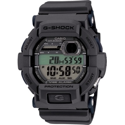 Picture of Casio Men's G-Shock Digital Vibration Alarm Watch - Grey