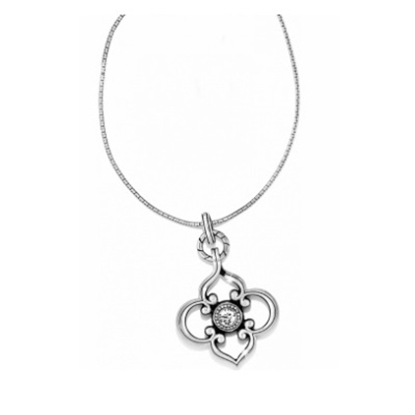 Picture of Brighton Toledo Convertible Long Necklace - Silver