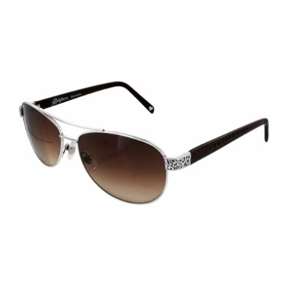 Picture of Brighton Sugar Shack Sunglasses - Chocolate/Silver