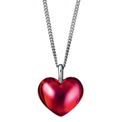 Picture of Baccarat Romance Small Pendant Necklace - Red Mirror