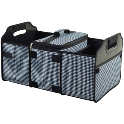Picture of Picinic at Ascot™ Trunk Organizer & Cooler- Houndstooth