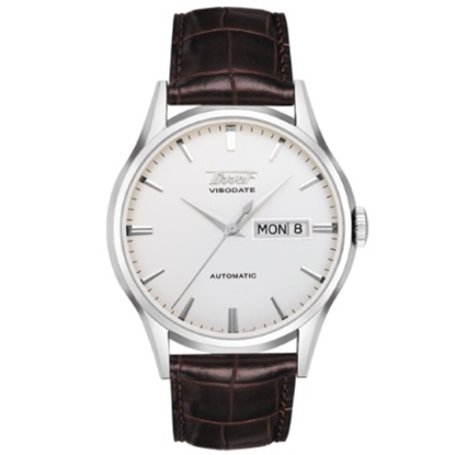Picture of Tissot Heritage Visodate Watch with Brown Leather Strap