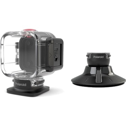Picture of Polaroid Waterproof Case/Suction Mount for Cube Action Camera