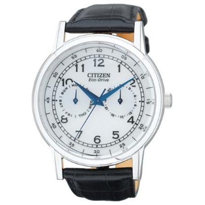 Picture of Citizen Men's Strap Chrono with Black Leather Strap