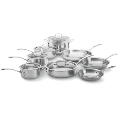 Picture of Calphalon® Tri-Ply Stainless Steel 13-Piece Set