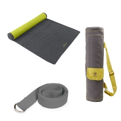 Picture of Gaiam® Citron Storm Yoga Set