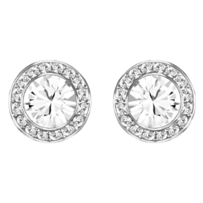 Picture of Swarovski Angelic Pierced Earrings - Rhodium