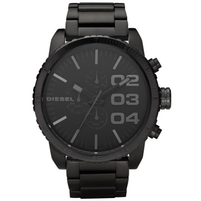 Picture of Diesel Double Down 51 Men's Watch - Black Stainless Steel